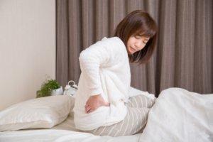 腰が痛い女性